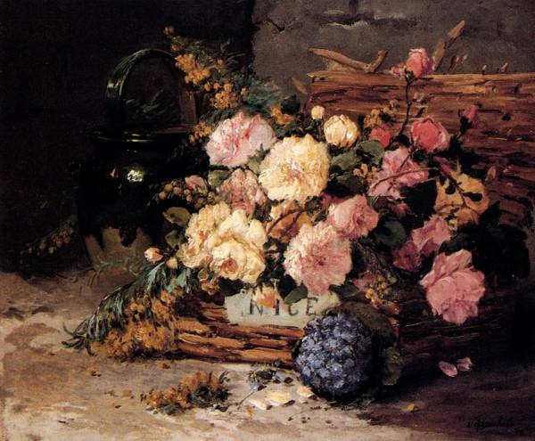 Floral Still Lifes Of Spring And Autumn